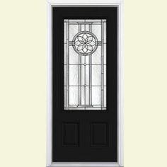 black doors, depot model, front doors, door option