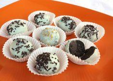 Recepty na nepečené guľky kokosové, čokoládové, medové, makové   Naničmama.sk No Bake Desserts, Muffin, Fudge, Baking, Breakfast, Cacao, Morning Coffee, Bakken, Muffins