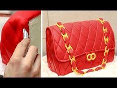 Fashion Bag Cake - How To Make / Torta Bolso by CakesStepbyStep - YouTube