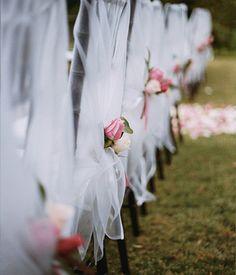 Tulle Wedding Decorations (