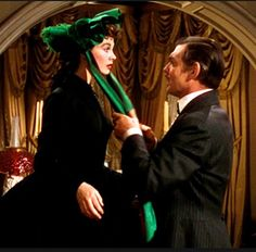 """Gone With the Wind"": Vivien Leigh/Scarlett O'Hara & Clark Gable/Rhett Butler Vivien Leigh, Go To Movies, Great Movies, Wind Movie, Name That Movie, Rhett Butler, Literary Characters, Tomorrow Is Another Day, Scarlett O'hara"
