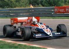 Andrea De Cesaris 1984 Ligier