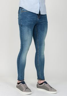 The vintage inspired Dart jeans from Scotch & Soda can be dressed up or down for day or night. Made from comfortable stretch cotton denim with fad Scotch Soda, Get The Look, Vintage Inspired, Dress Up, Skinny Jeans, Denim, Cotton, Blue, Outfits
