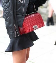 Threads Styling - Street Style - Chanel Boy Bag - Dior Couture 2014, Paris