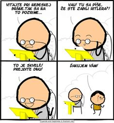 Super Funny Comics Cyanide And Happiness Ideas Funny Cartoons, Funny Comics, Funny Jokes, Inappropriate Memes, Funny Quotes For Teens, Funny Quotes About Life, Life Quotes, Cyanide And Happiness Comics, Image Gag