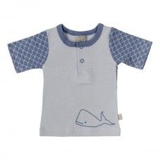 T-Shirt with Willa Whale & Fish Scale
