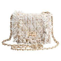 Chain Argyle Twist-Lock Closure Crossbody Bag ($21) ❤ liked on Polyvore featuring bags, handbags, shoulder bags, chain shoulder bag, chain crossbody, cross body, crossbody chain purse and chain handbags