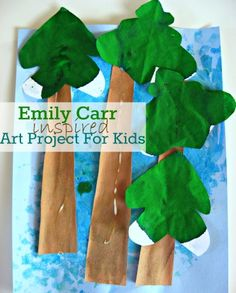 Inspired by Emily Carr: Tree Craft