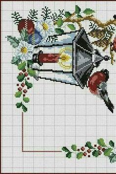 Cross Stitch Boarders, Cross Stitch Fruit, Xmas Cross Stitch, Cross Stitch Charts, Cross Stitch Designs, Cross Stitching, Cross Stitch Embroidery, Cross Stitch Patterns, Family Ornament