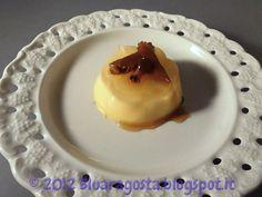 Panna cotta al mandarino con zenzero caramellato