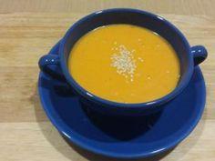 Crema de zanahoria fácil