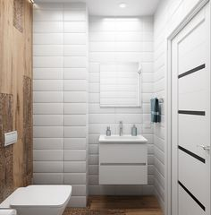 White and timber look Powder Room, Alcove, Bathtub, Home Decor, Bathrooms, Decorating Ideas, Future Tense, Room, Living Room