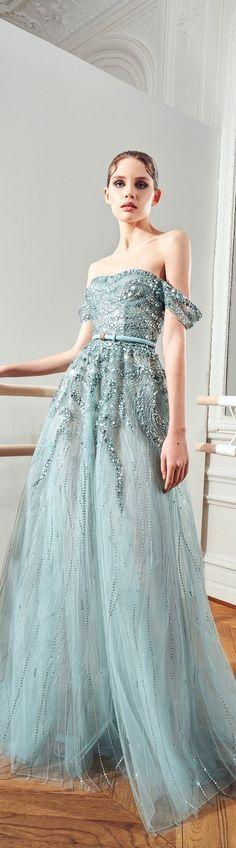 Zuhair Murad, Red Carpet, Ball Gowns, Teal, Formal Dresses, Fashion, Backless Homecoming Dresses, Tea Length Formal Dresses, Moda
