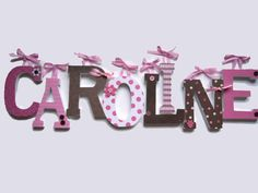 1 Custom Wooden Letters  Nursery Kids Rooms by BugsNButterflies, $12.50