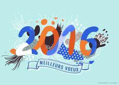 Le Cnef souhaite communiqué cette année sur son groupe / association Libre de le dire.Pour cela une carte de voeux 2016.#2016 #carte #voeux #pointillisme #wishcard #cnef #annee #year #bestpicture…