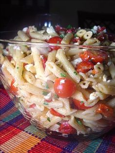 Lemon Pasta Salad from Food.com: Based on a recipe from Bon Appetit--I added the herbs I've been growing. Nice side dish for a hot summer day.
