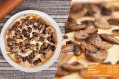 Fotografía de productos / gastronomía - Pizza de champignones