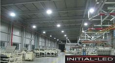 INITIAL-LED 150W High Bay provides uniform lighting with up to 30% more luminosity output,  no dark patches and a good colour rendering. http://j.mp/1wisYrF