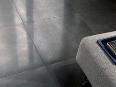Ceramic floor tiles with metal effect STEELWORK | Floor tiles with metal effect - Ceramica Fioranese