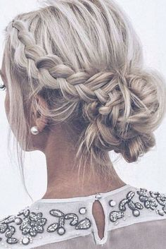 Prom hairstyles updos with braids brides 13 - www. Prom hairstyles updos with braids brides 13 – www. Summer Wedding Hairstyles, Indian Wedding Hairstyles, Homecoming Hairstyles, Winter Hairstyles, Trendy Hairstyles, Hair Wedding, Black Hairstyles, Wedding Nails, Bridal Hairstyles