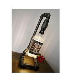 Edison Light Jack Daniel's Pipe Lamp Steam by HandMadeProjects4u