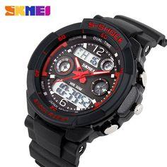 Men's Quartz Digital Watch Men Sports Watches SKMEI S Shock Relojes LED Military Waterproof Wristwatches