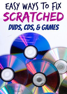 Tired of skipping dvd's and unreadable discs? Give these easy tricks a try!