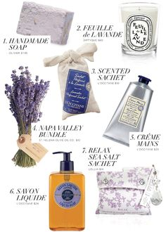 Lavender - great for overall calming, aiding sleep, stress relief, and more!