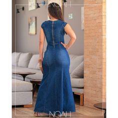 Denim Fashion, Fashion Outfits, Estilo Jeans, Womens Denim Dress, Prom Dresses 2018, Latest African Fashion Dresses, Jeans Rock, Sculptural Fashion, Indian Beauty Saree