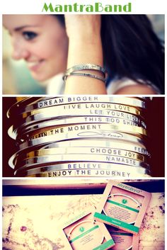 All Mantrabands are in stock, just in time for the holidays! They'll make the perfect gift for the special women in your life ♥