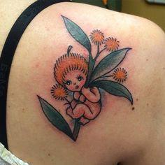 Gumnut baby Snail Tattoo, Australian Tattoo, Cool Cartoons, Cartoon Fun, Baby Tattoos, Tattoo Inspiration, Tatting, Ink, Tattoo Ideas