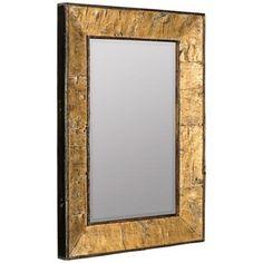 """Cooper Classics Zuma Tree Bark 24""""x33"""" Wall Mirror"""