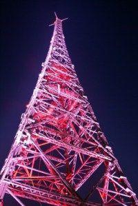 Projekt iluminacji Radiostacji Gliwice.