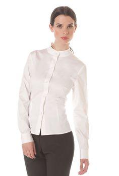 Women's Mandarin Dress Shirt