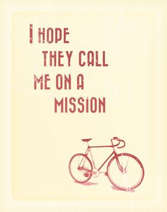 Make your bicycle's day!
