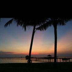 Maldives - serene sunset.