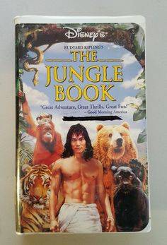 The Jungle Book (VHS, 1995) Family & Kids Movies in DVDs & Movies, VHS Tapes | eBay