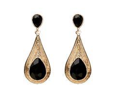 Golden-Tear-Earrings