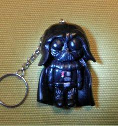 Darth Vader chibi, fimo, polymer clay