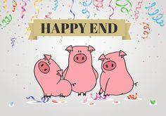 Trzy świnki z happy end… czyli kindermarketing i jak sobie z nim radzić. - mama dusigrosz Happy End, Comics, Cartoons, Comic, Comics And Cartoons, Comic Books, Comic Book, Graphic Novels, Comic Art