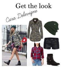 """""""Cara Delevigne"""" by superstar1304 ❤ liked on Polyvore featuring Velvet by Graham & Spencer, Stoosh, Penny Loves Kenny, Volcom, True Religion, women's clothing, women, female, woman and misses"""