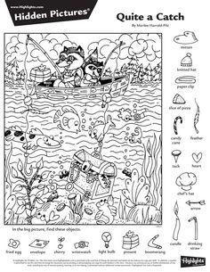 Celebrate February! | Hidden Pictures, Hidden Picture English Activities, Activities For Kids, Teaching Kids, Kids Learning, Highlights Hidden Pictures, Hidden Pictures Printables, Hidden Picture Puzzles, Printable Mazes, Hidden Objects