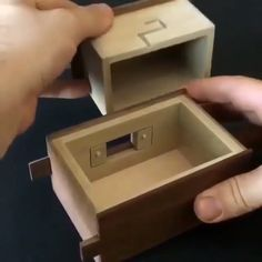 Hide Your Weed xd - Creative Woodworking ideas - Woodworking Woodworking Tools For Beginners, Unique Woodworking, Woodworking Projects That Sell, Popular Woodworking, Woodworking Crafts, Woodworking Plans, Woodworking Magazines, Wooden Puzzle Box, Wood Projects