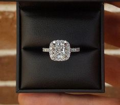 Look at these halo wedding rings 8586 #haloweddingrings Princess Cut Engagement Rings, Harry Winston Engagement Rings, Heart Ring, Handmade Jewelry, Diamond Earrings, Dream Wedding, Wedding Rings, Wallet, Store