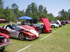 corvette camping | Maggie Valley GA trip May 2009