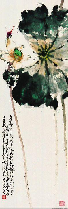 赵少昂 荷花作品欣赏 - wangchangzhengb - wangchangzhengb的博客