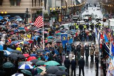 Boston Marathon bombings remembered with moment of silence  (Photo: Jared Wickerham / Getty Image)