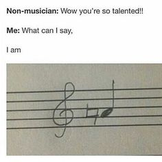 """The line """"what can I say"""" made me laugh af. Lmao!  #sheetmusic #musicians #musicjokes #music #mvn #musicvulturesnitz #socialobservers #staff #friend #musictheory #fun #instalove #me #people #followme #guitarists #pianist #violin #drummer #flutist #saxophone #rock by music_vulture_nitz"""