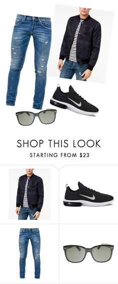 """""""Untitled #8"""" by belmin-cergic ❤ liked on Polyvore featuring Tommy Hilfiger, NIKE, Dondup, Gucci, men's fashion and menswear"""