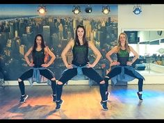 6AM - J.Balvin - Cumbia-Merengue version - Easy Fitness Dance Choreography - YouTube